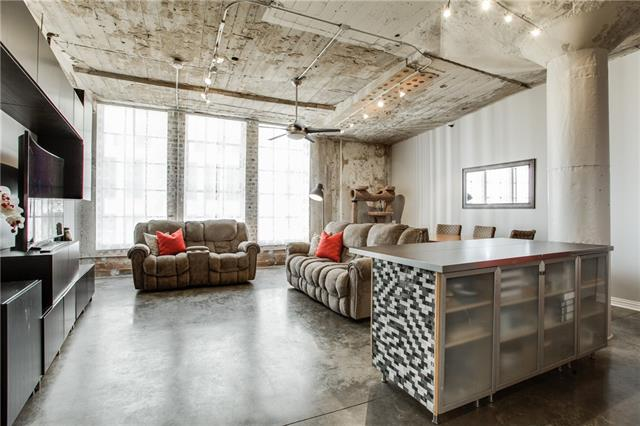 Downtown Dallas Industrial Loft