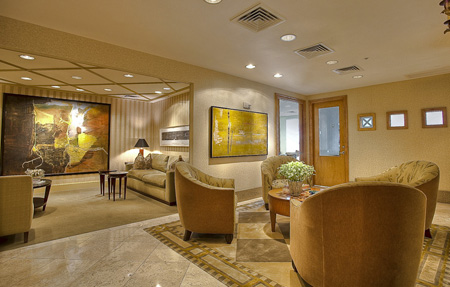 Mayfair lobby