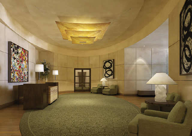 Four seasons austin lobby