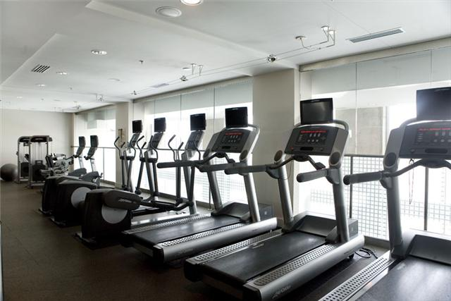 fitness center at encore condos of nashville
