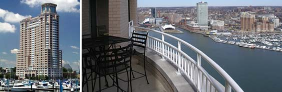 Harborview Condos In Baltimore Md 100 Harborview Drive