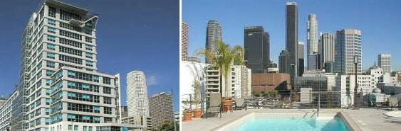 renaissance tower high rise apartments in downtown los angeles. Black Bedroom Furniture Sets. Home Design Ideas
