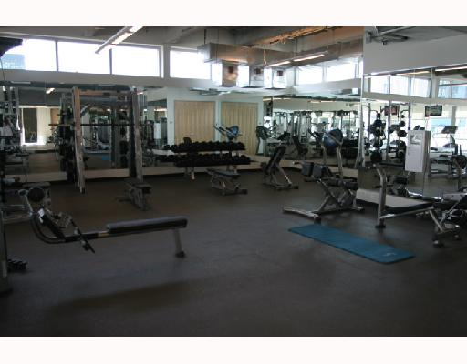 Fitness center at the vue