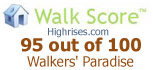 Walk score for this san diego condo building