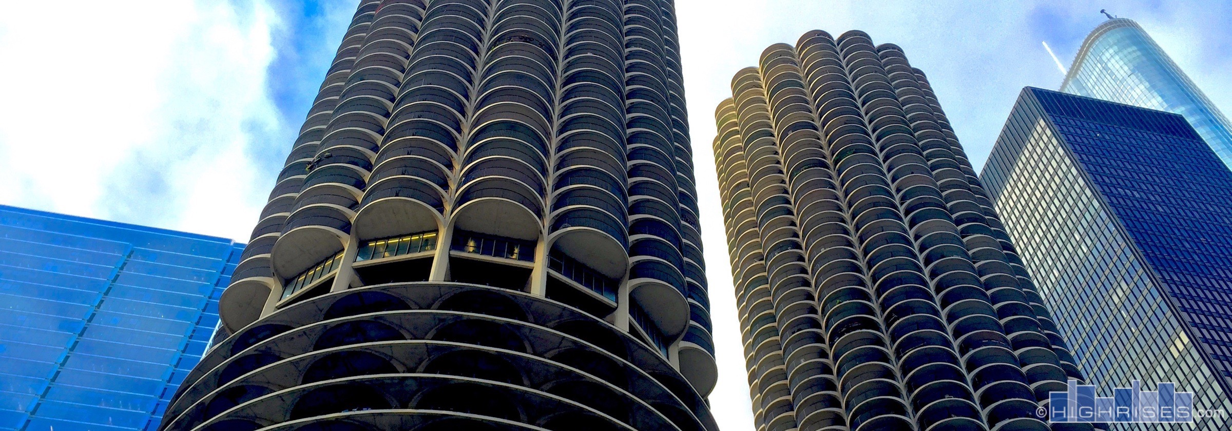 Trump Tower Apartments Marina City Condos Of Chicago Il 300 N State St