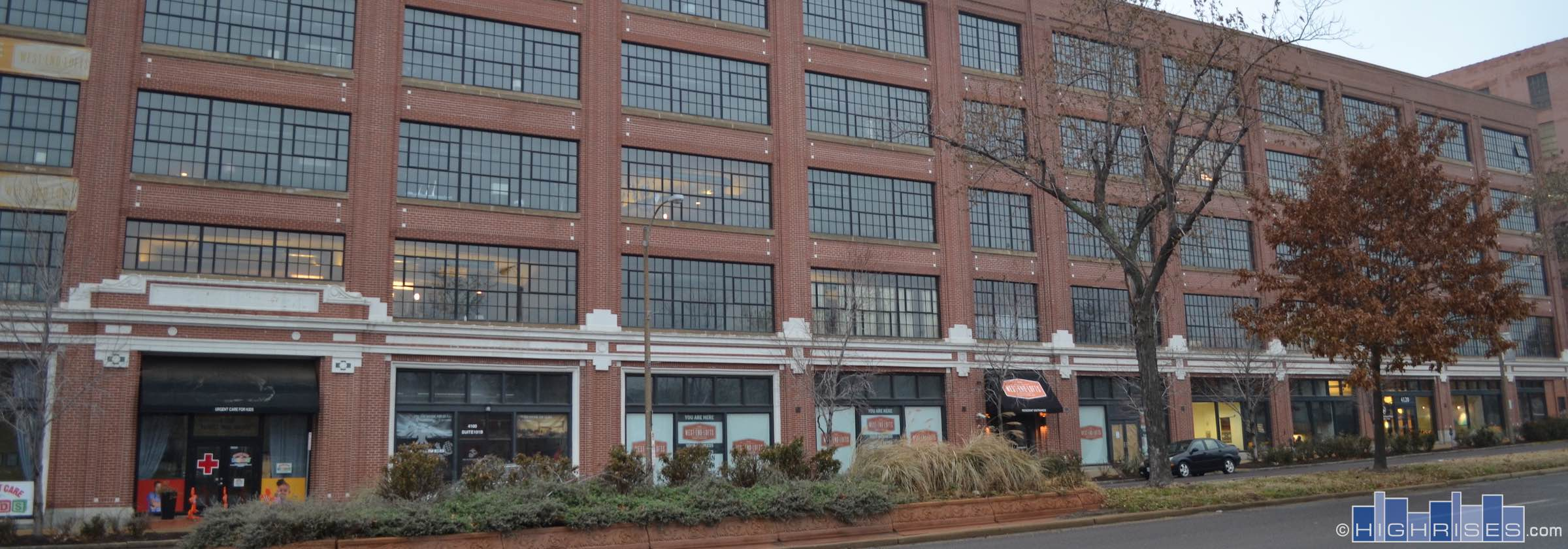West End Lofts Of St Louis Mo 4100 Forest Park Ave