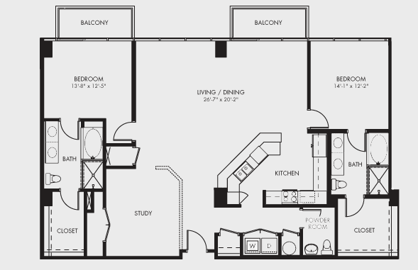 Mosaic condos of houston 5925 almeda houston real estate for Condo blueprints