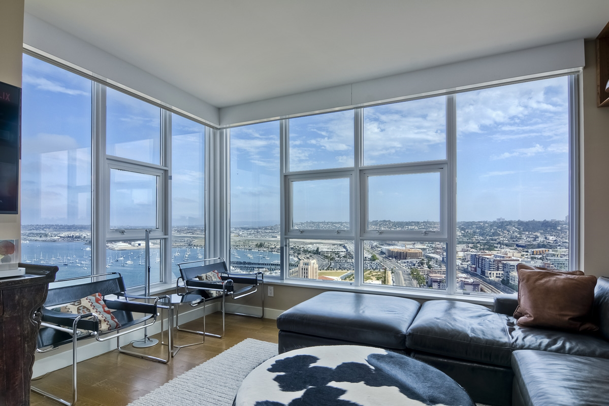 Luxury Condo At San Diego S Newest Highrise The Bayside At