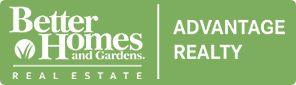 Better Homes & Gardens Advantage Realty logo