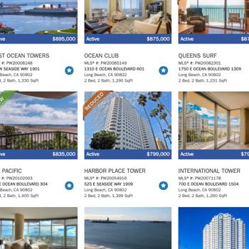 Long Beach Condo Search