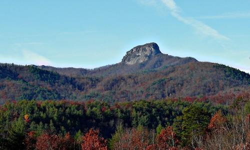North Carolina mountains and forests