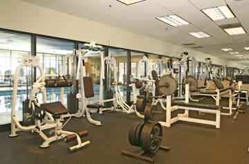 fitness center at reserve square