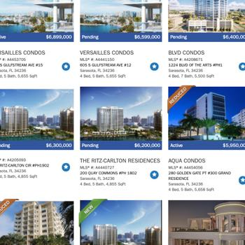 Sarasota Condo Search