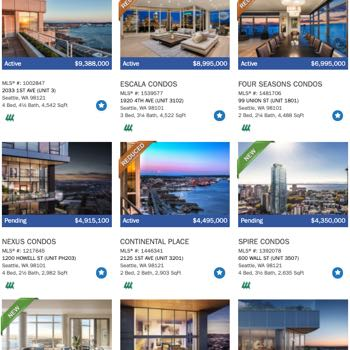Seattle Condo Search