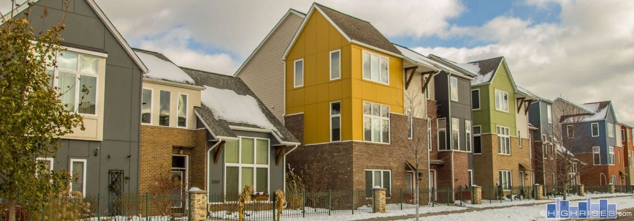 Bergen Village Townhomes Of Cleveland Oh